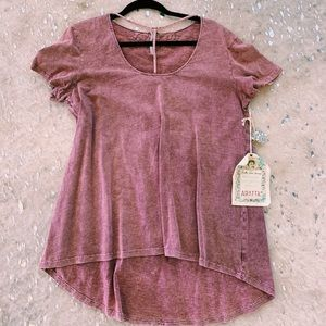 Washed Mauve Dolley Shirt